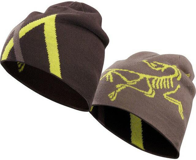 Arcteryx 始祖鳥 保暖帽/登山毛帽/滑雪 Arc Mountain 雙面保暖帽16442 黑柳木/燻丁香雙面Arc'teryx