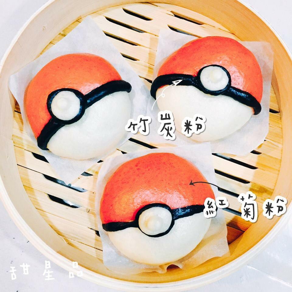 純手工寶貝球造型鮮奶饅頭-5入(巧克力餡)