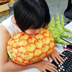 美麗大街【106081515】鳳梨創意仿真水果蔬菜沙發抱枕靠墊