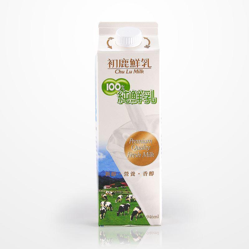 初鹿牧場|100%純鮮乳(946ml/瓶) 1