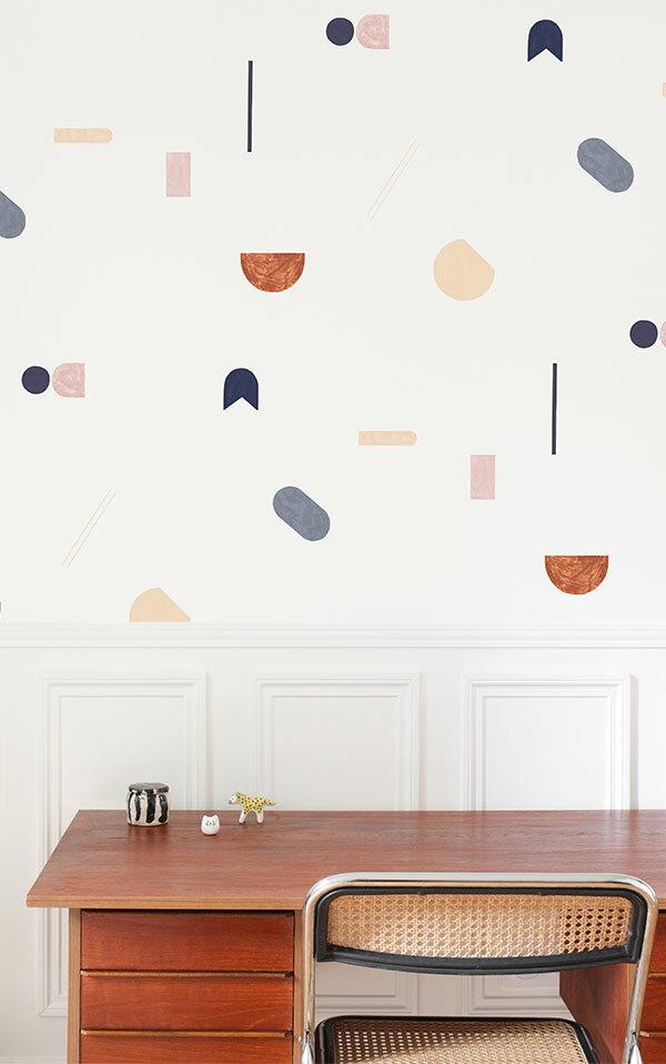 法國壁紙 幾何形圖案  2色可選  Season Paper x Heju合作壁紙 0