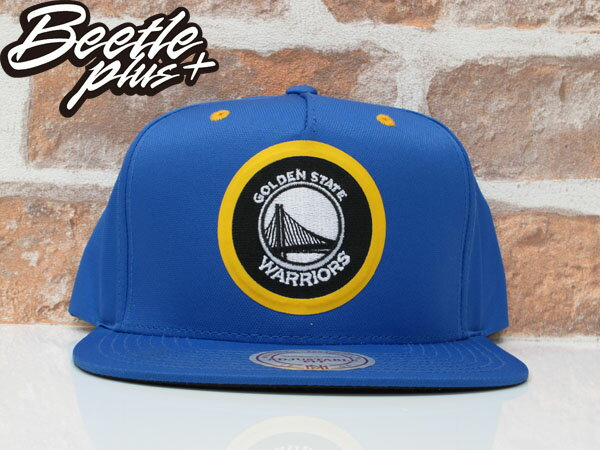 BEETLE NESS NBA WARRIORS 金州勇士 CURRY 藍黃 尼龍 SNAPBACK 棒球帽 總冠軍 MN-375 0