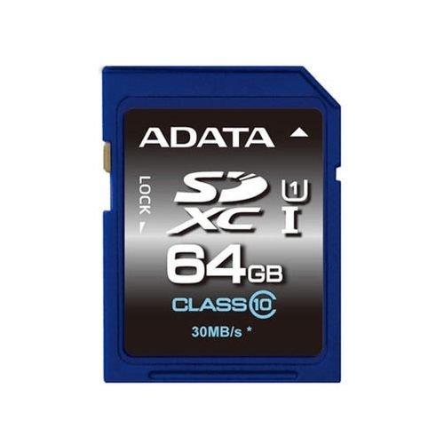 【新風尚潮流】威剛記憶卡 64G 64GB SDXC C10 UHS-I U1 ASDX64GUICL10-R