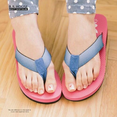拖鞋-PLAYBOY輕盈夾腳海灘拖鞋.寶貝窩 .【PYS1207】(桃紅)