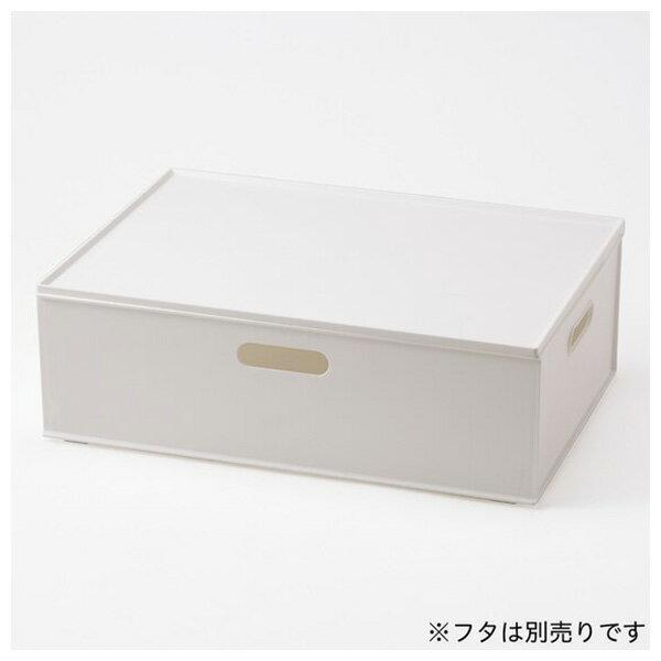 收納盒 橫式半格型 N INBOX GY NITORI宜得利家居 2