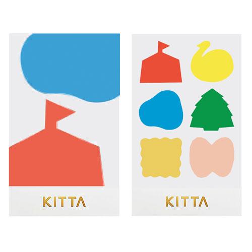 【日本KITTA】隨身攜帶手帳貼SealKITD009在公園裡本