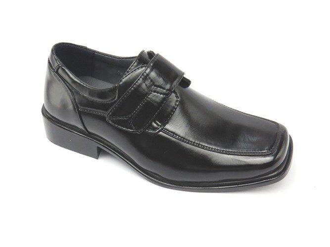 *男皮鞋* 時尚舒適方頭排壓氣墊皮鞋77-7827(黑)☆【彩虹屋】☆