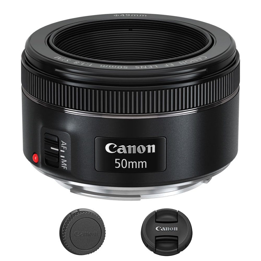 Canon EF 50mm f/1.8 STM Lens International Model 0