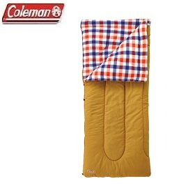 [ Coleman ] 紅格紋刷毛睡袋 / 可機洗 / 公司貨 CM-26647