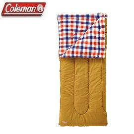 [Coleman]紅格紋刷毛睡袋可機洗公司貨CM-26647
