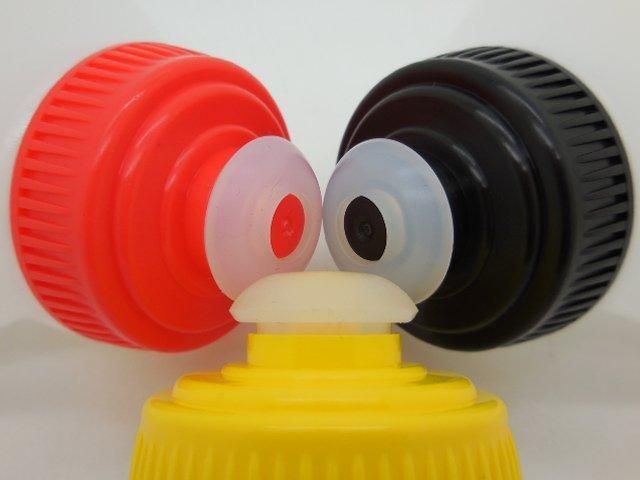 FINISHER腰包水瓶200ml 加購單支 (水瓶嘴三色:黃,紅,黑可選)