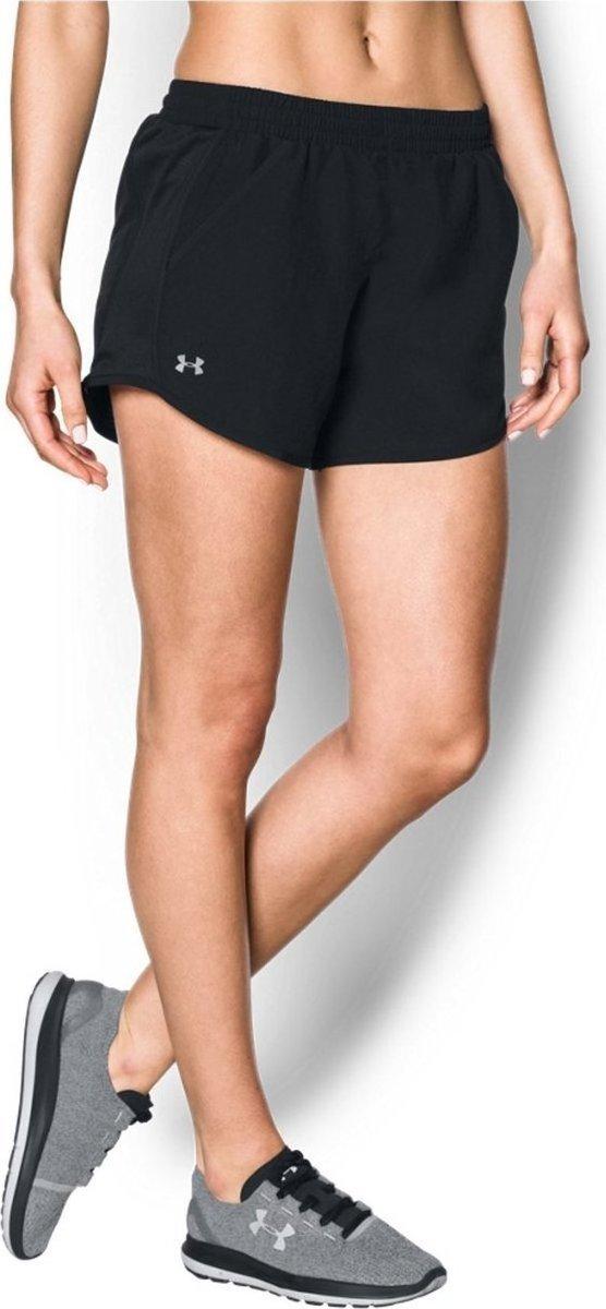 《UA出清5折》Shoestw【1297125-002】UNDER ARMOUR UA服飾 慢跑短褲 運動褲 黑色 女生