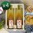 【醋桶子】健康果醋禮盒-蘋果蜂蜜醋4組免運(600mlx2瓶/組) 0