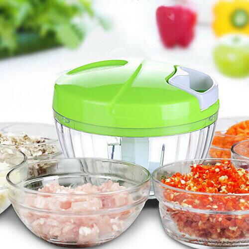 烘焙具匠 手拉切菜器 家用手動絞肉機 多功能碎菜器手動絞肉機切蒜器