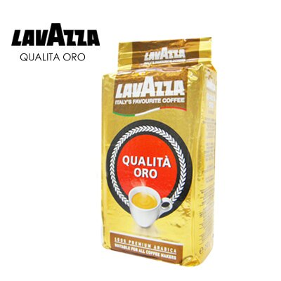 義大利【LAVAZZA】QUALITA ORO 研磨咖啡粉 250g (金牌)