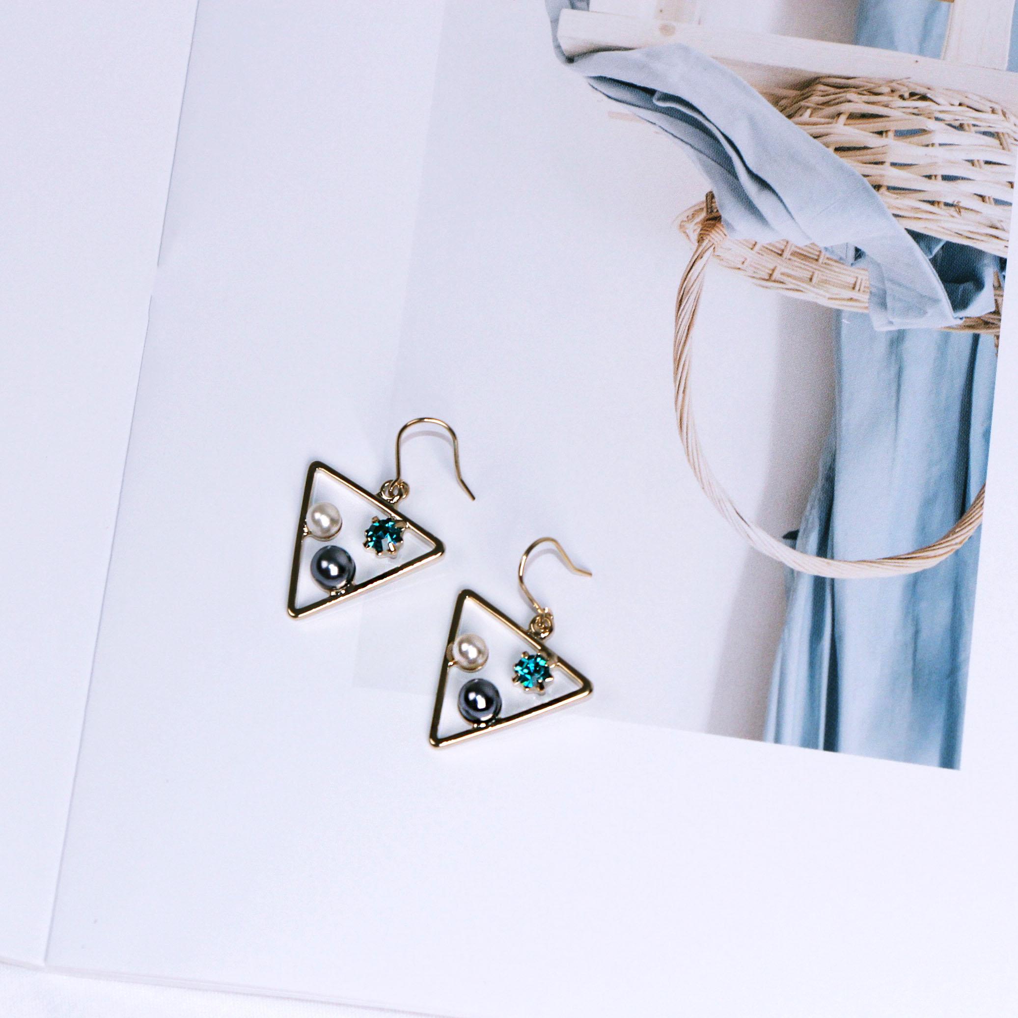 三角恆星‧水星藍  /   耳針 0