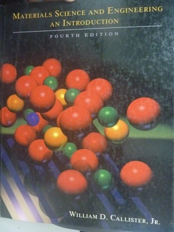 ~書寶 書T5/大學理工醫_QXS~Materials Science and4 e