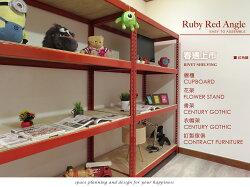 獨家限定! 寶石紅角鋼(您設計我接單 款式最多樣!) ♞空間特工♞書架 衣櫃 鞋櫃 收納櫃 置物架理想櫃 組合櫃層架鐵架
