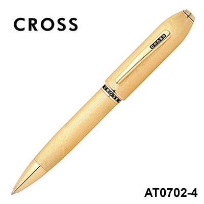 CROSS高仕Peerless125尊爵系列23K鍍金AT0702-4原子筆支