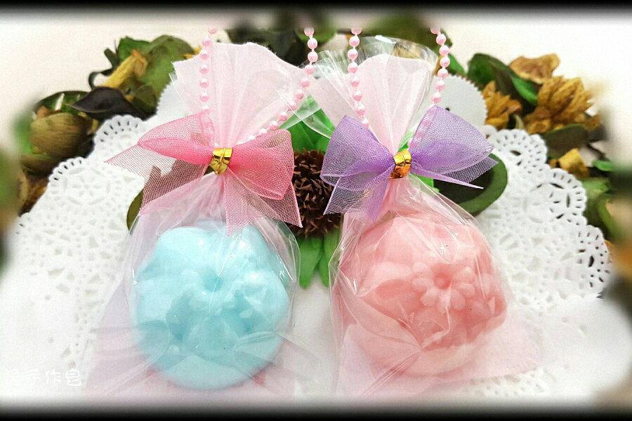 婚禮小物-櫻花和?子手工香皂(一入裝) 甜點皂/節日禮品【棠逸手作皂 】