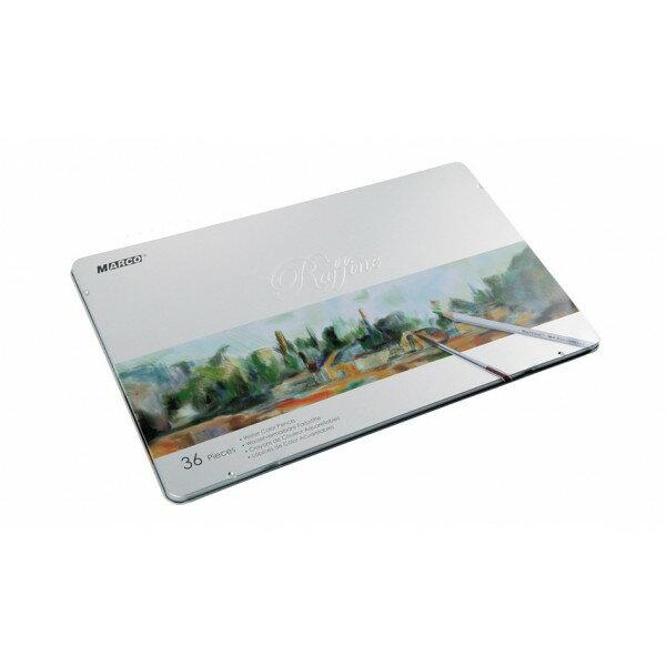【文具通】MARCO Raffine 馬可 水性色鉛筆 7120-36TN 36色鐵盒 A1340315