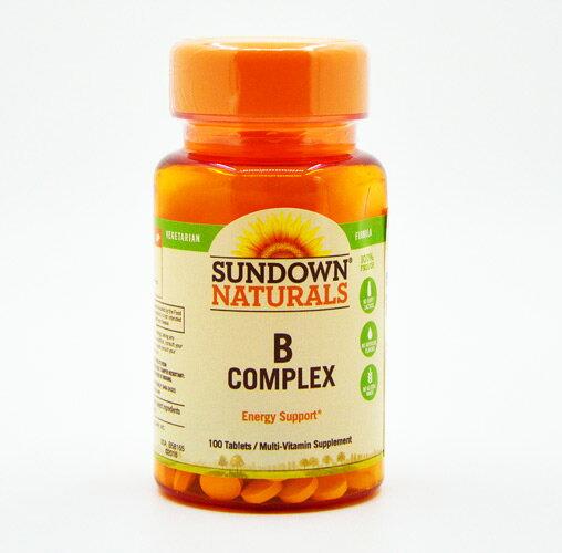 【小資屋】Sundown日落恩賜 每日綜合B群RDV錠B-COMPLEX(100粒/瓶)