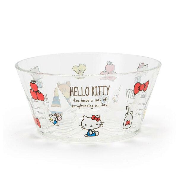 X射線【C101476】HelloKitty塑膠碗500ml,餐碗碗盤餐具缽防摔碗不銹鋼碗隔熱碗泡麵碗碗公