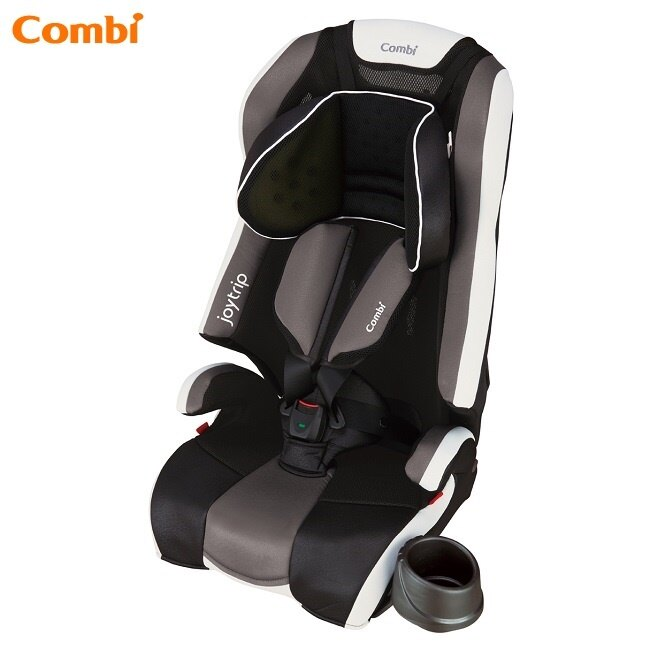 日本【Combi 康貝】Joytrip MC EG 成長型汽車安全座椅 - 經典黑