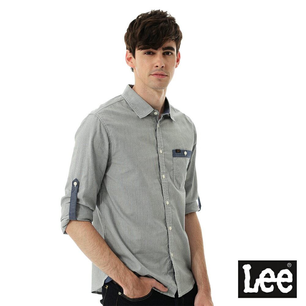 Lee 條紋長袖襯衫 9