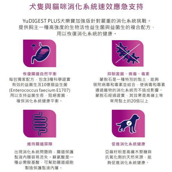 英國YUMPRO BioActiv Plus 犬樂寶益生菌加強版-腸胃保健 單包入 Pet's Talk 1