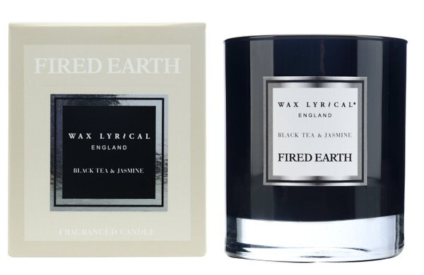 英國WaxLyrical玻璃蠟燭禮盒-紅茶與茉莉(可燃50小時)