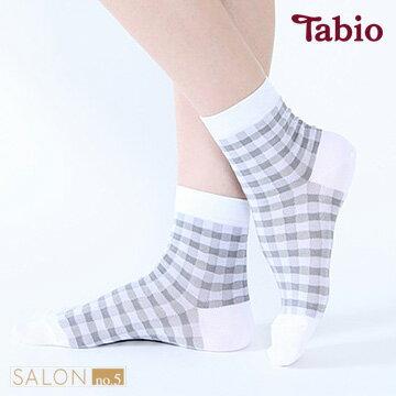 日本靴下屋Tabio 文青風格紋棉質短襪 - 限時優惠好康折扣