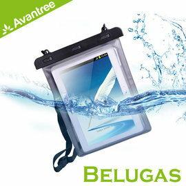 <br/><br/> 志達電子 KSWP-003 Avantree Belugas 10吋平板萬用防水袋 附吊繩 防塵防水的防水套/防水包 海釣/潛水/海邊皆適用 iPad Air可用<br/><br/>