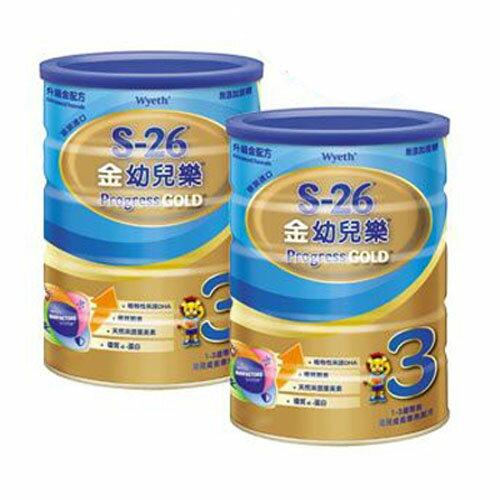 惠氏金幼兒樂 升級金配方1.6kg 2入【德芳保健藥妝】