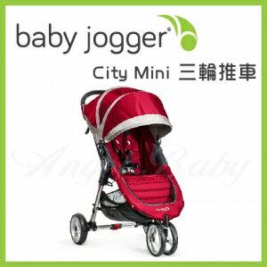 美國【Baby Jogger】City Mini 三輪推車(紅) 1