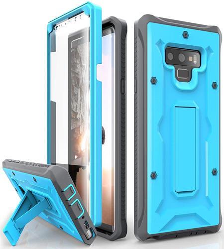 【美國代購】ArmadilloTek Vanguard 三星Galaxy Note 9手機殼  藍灰