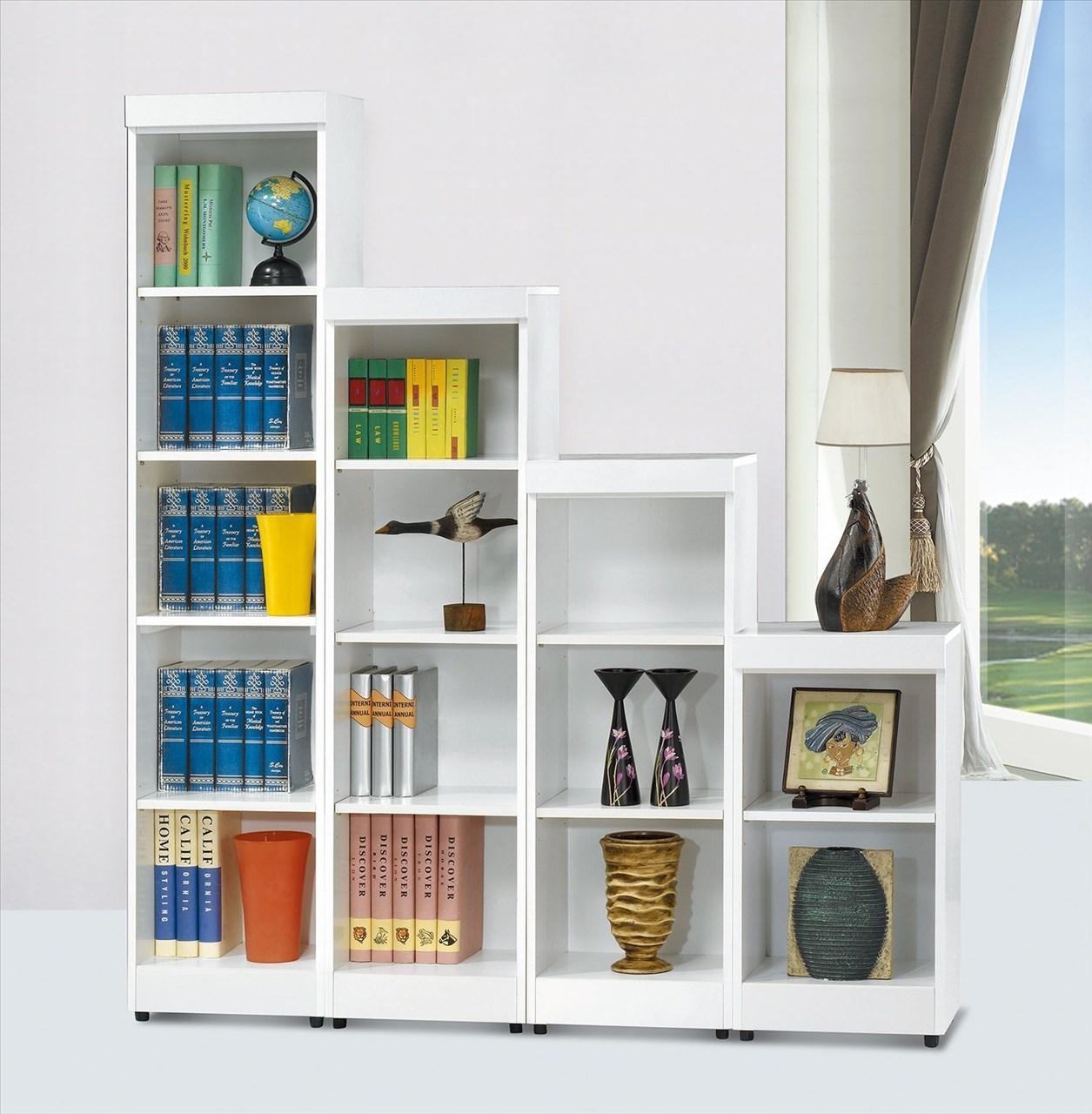 【石川家居】EF-266-1 長榮白色5.2尺書櫃組 (不含其他商品) 需搭配車趟費