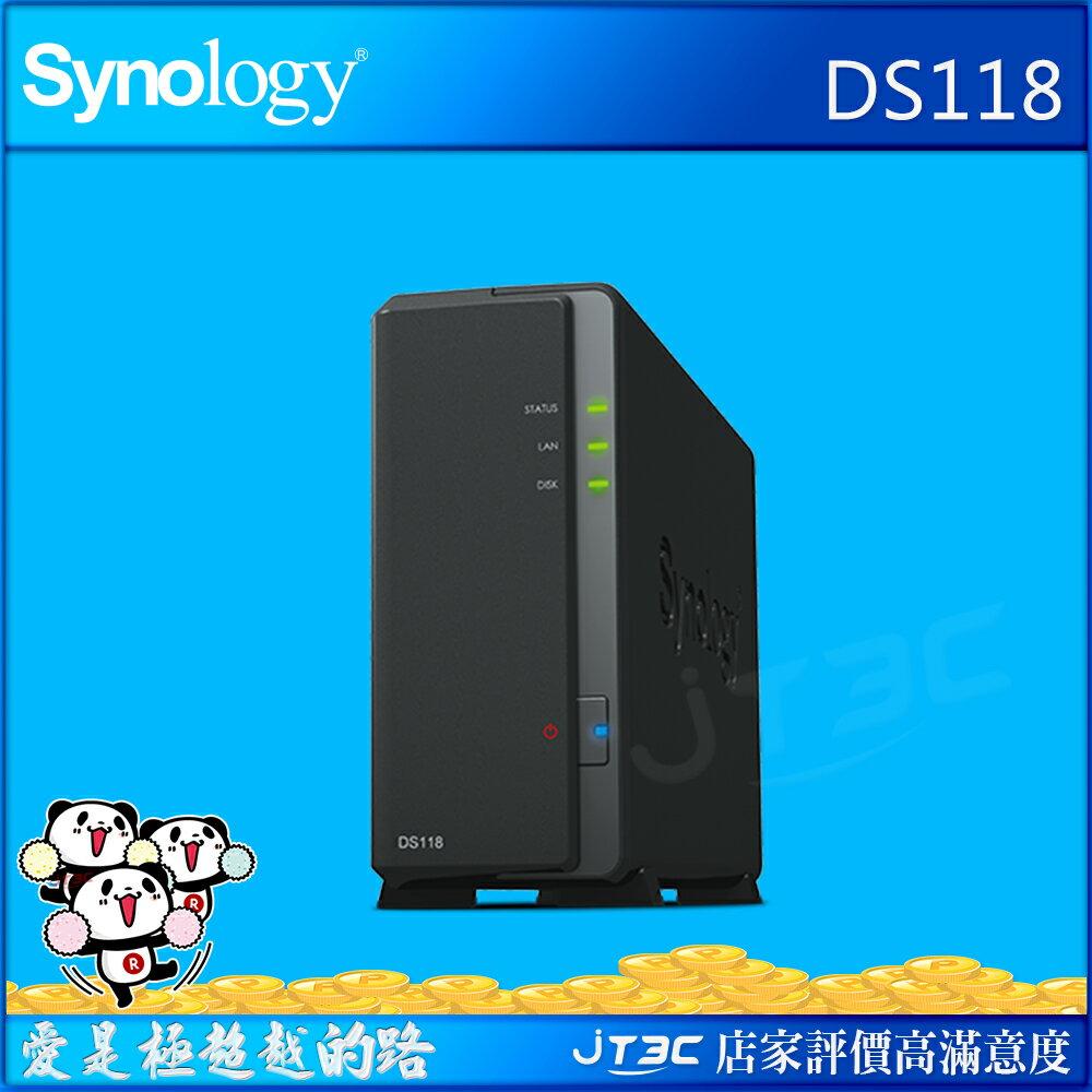~點數 15% 折 80~Synology 群暉科技 DiskStation DS118