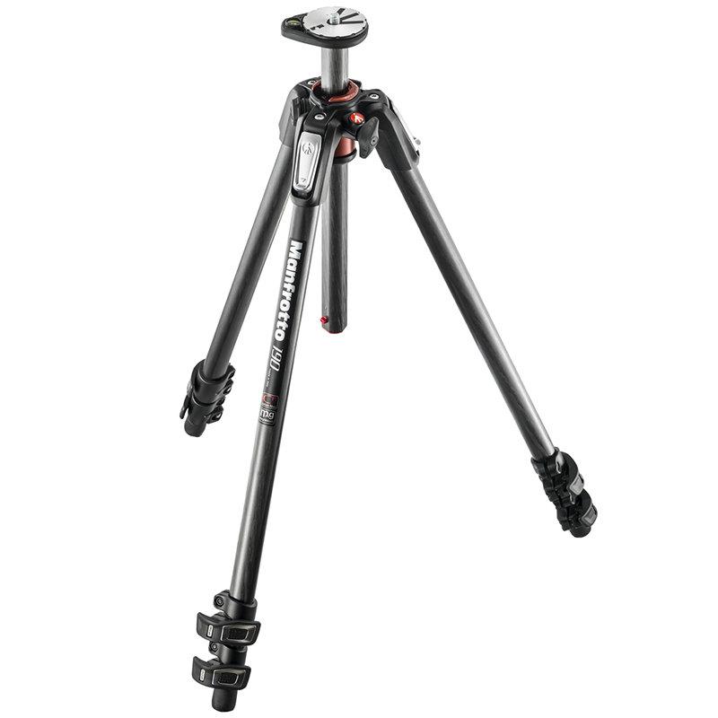 ◎相機專家◎ Manfrotto MK190CXPRO3-3W 碳纖三腳架套組 送腳架袋 正成公司貨