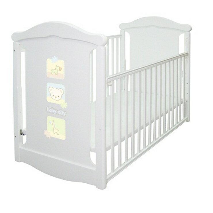 娃娃城babycity專櫃 動物熊搖擺中大床+ 床墊(不含床組) 0