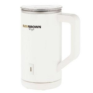 伯朗冷熱奶泡機(典雅白)