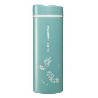 伯朗Lounge不鏽鋼瓶Mini-保溫杯瓶-飛舞蝶(日光綠)-0.36L