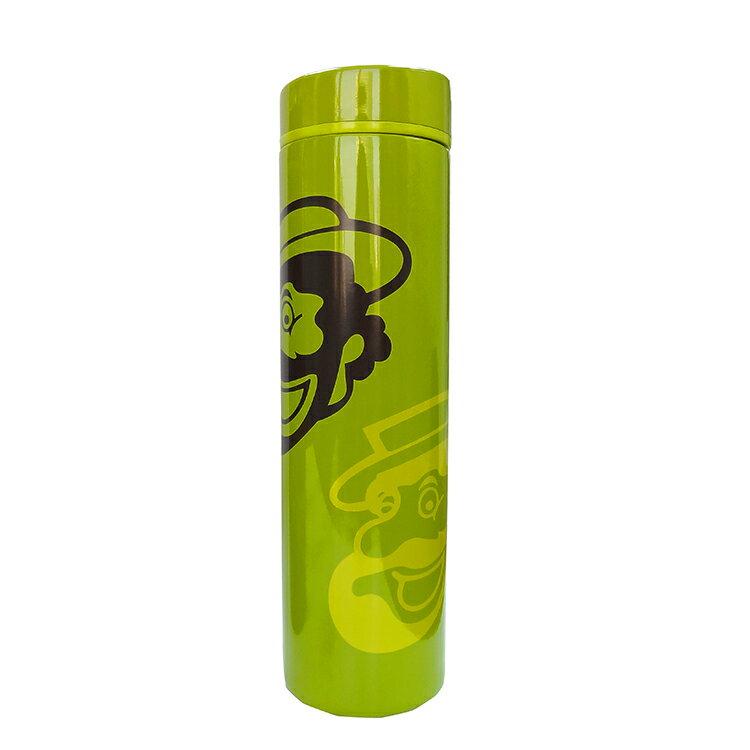 伯朗Lounge不鏽鋼瓶-保溫杯瓶-普普風(輕綠)-0.5L