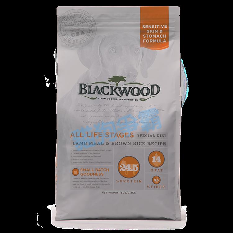 柏萊富 Blackwood 功能性全齡 護膚亮毛配方(羊肉+糙米) 15磅 幼犬飼料 狗飼料 成犬飼料 老犬飼料 WDJ推薦 全齡犬飼料 0