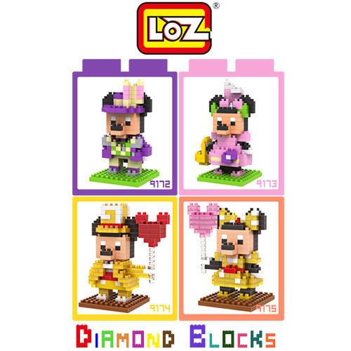 LOZ 迷你小積木 米奇 / 米妮 紀念版系列 迪士尼 樂高式 組合玩具 益智 原廠正版 大盒款