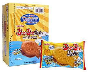 日本代購預購少量批發日本製meito鯛魚燒威化夾心餅(巧克力)1盒共10包790-751