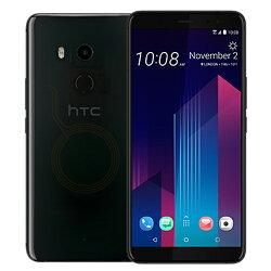 HTC U11+  4G/64G智慧手機 - 透視黑【愛買】