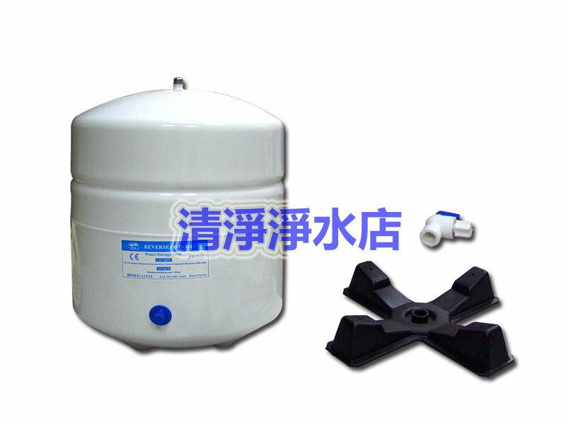 【大墩生活館】台製CE認證/NSF認證RO儲水桶,型號132壓力桶/3.2加崙純水桶,含稅特價只要420元。