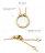 日本Cream Dot  /  槌面圓環項鍊  /  p00017  /  日本必買 日本樂天代購  /  件件含運 5