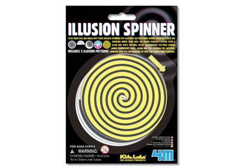 ~4M  DIY~Illusion Spinner 幻象陀螺 ~  好康折扣